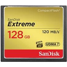 SanDisk Extreme CompactFlash 800X 120MBps 128GB Memory Card